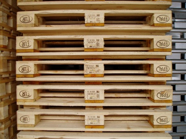 euro pallets 2 600x450 4 Things to know about Euro Pallets